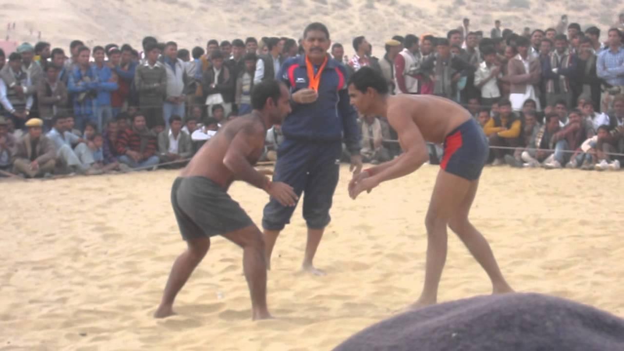 Villagers Wrestling